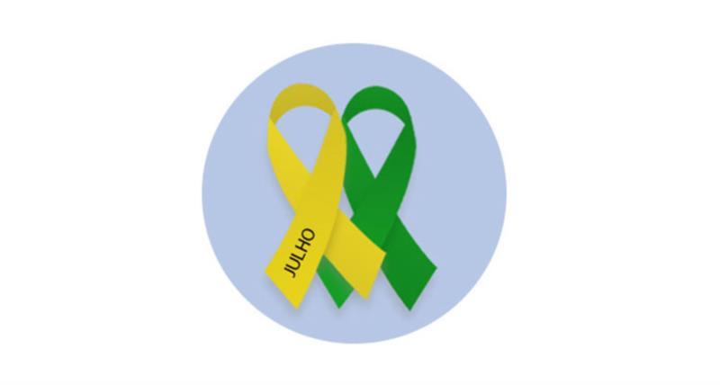 Julho verde e amarelo